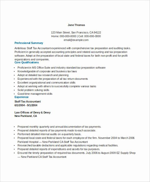 Staff Accountant Resume Summary Lovely Perfect Accounts Receivable Resume to Get Hired Immediately