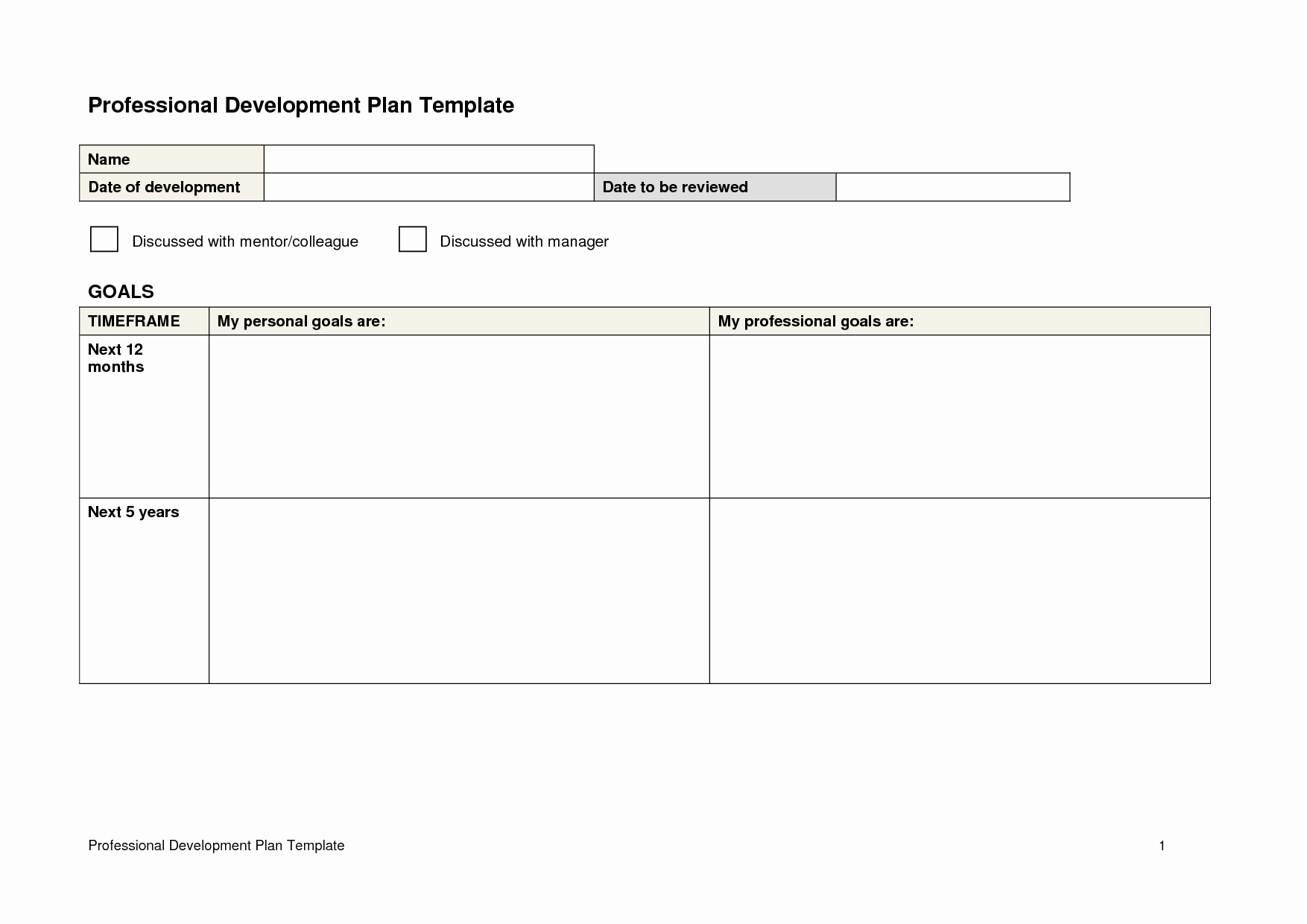 Staffing Plan Template Word Fresh 26 Of Professional Development Plan Template