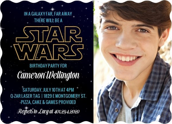 Star Wars Birthday Invitation Wording Fresh Star Wars Birthday Party Ideas Invitations Activities