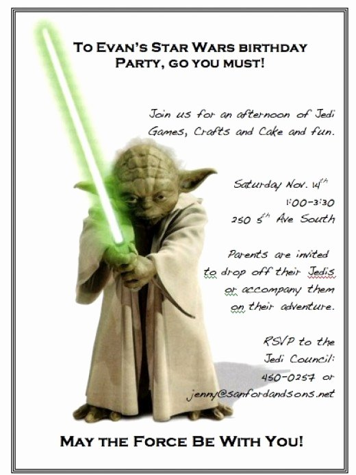 Star Wars Birthday Invitation Wording Lovely Star Wars Birthday Party Around $50