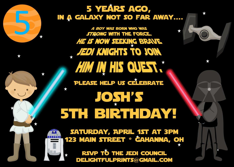 Star Wars Invitations Free Beautiful Free Printable Star Wars Birthday Party Invitations
