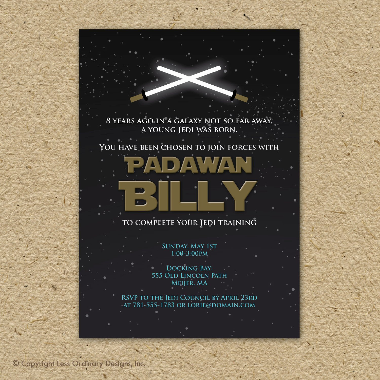 Star Wars Invitations Free Fresh Star Wars Birthday Party Invitation Printable by