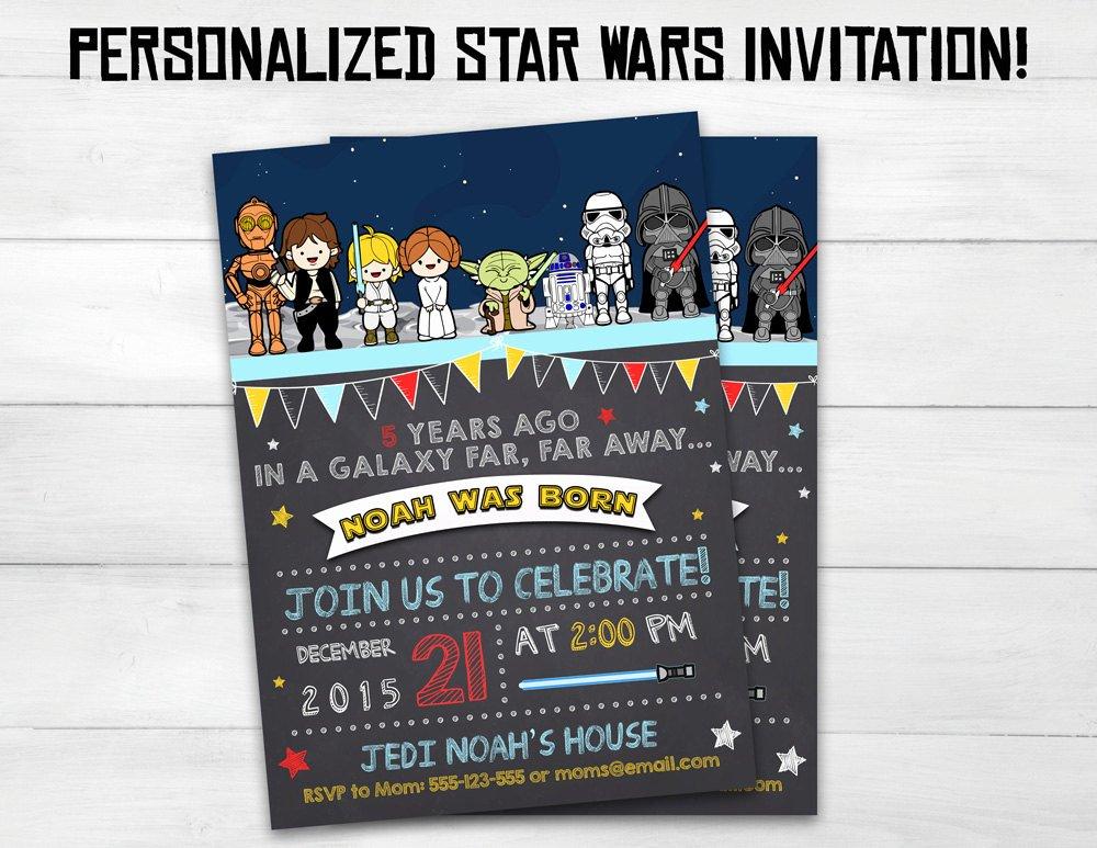Star Wars Invitations Free Fresh Star Wars Invitation Star Wars Kids by Superinstantparty