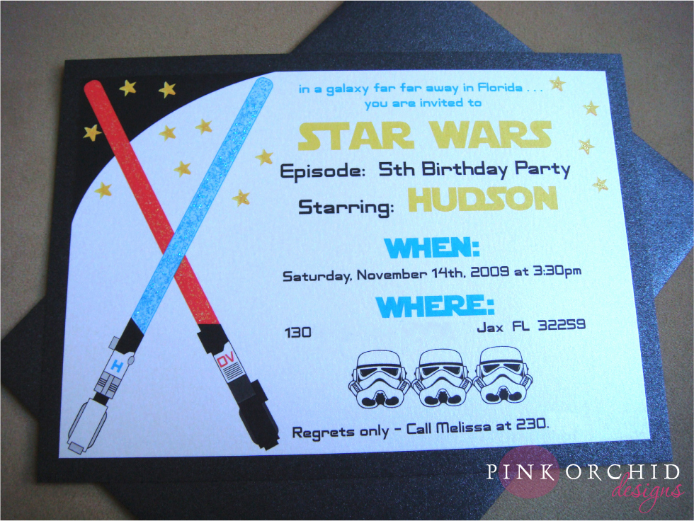 Star Wars Invitations Printable Elegant Star Wars Birthday Party Invitations Templates