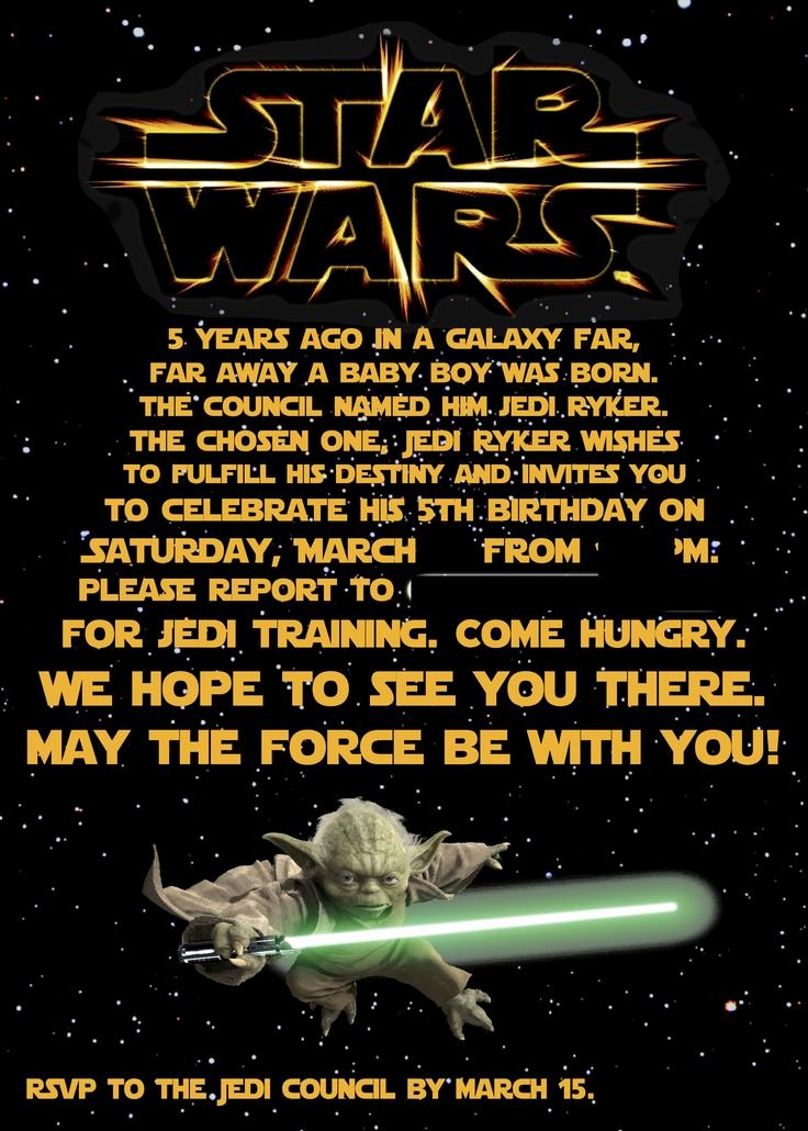 Star Wars Invitations Wording Best Of Best 25 Star Wars Invitations Ideas On Pinterest