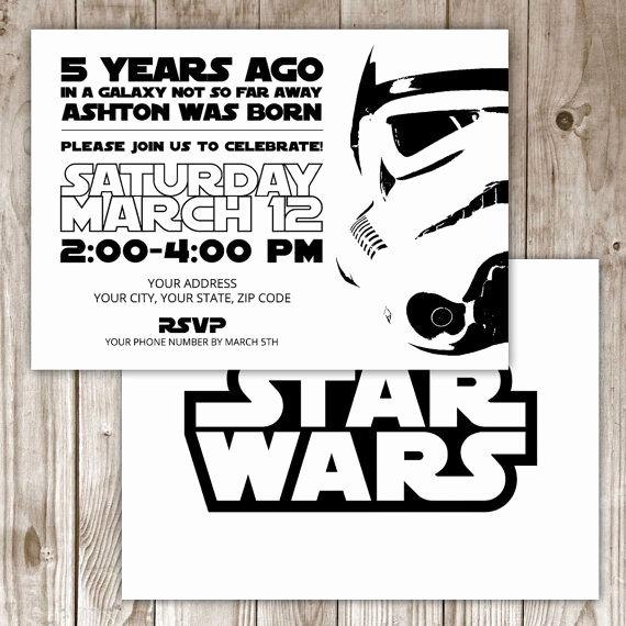 Star Wars Invitations Wording Inspirational Best 25 Star Wars Invitations Ideas On Pinterest