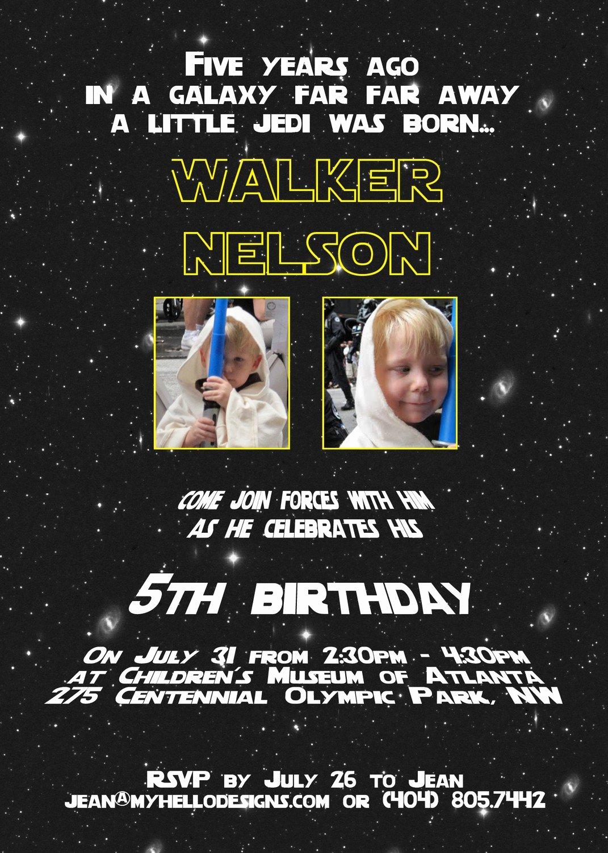 Star Wars Invitations Wording Lovely Star Wars Birthday Invitations Wording