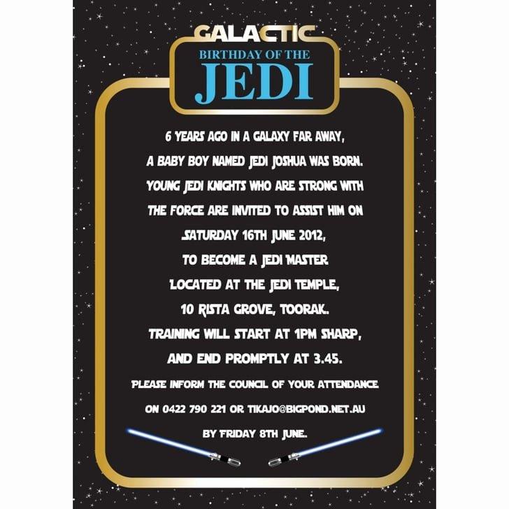 Star Wars Invitations Wording Luxury Invitation Star Wars Birthday Party