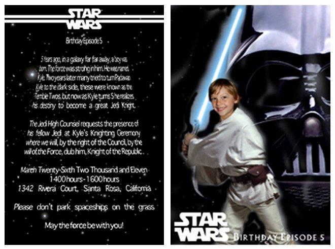 Star Wars Invitations Wording Luxury Star Wars Birthday Party Ideas Invitations Food Decor