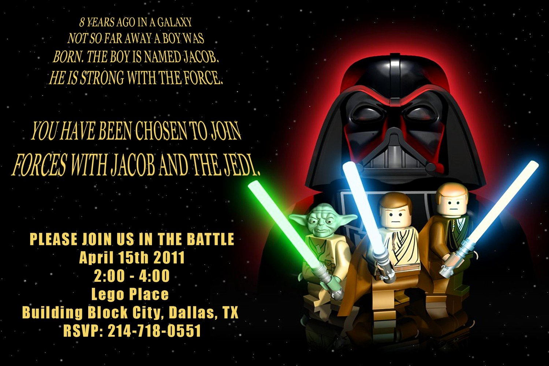 Star Wars Invitations Wording Unique Star Wars Birthday Invitations Wording