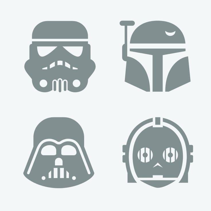 Star Wars Letter Stencils Awesome the Iconfinder Blog New On Iconfinder 2