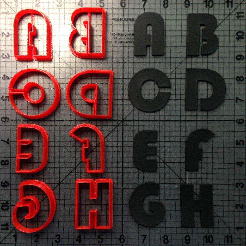 Star Wars Letter Stencils Unique Bauhaus 93 Font Uppercase Cookie Cutters