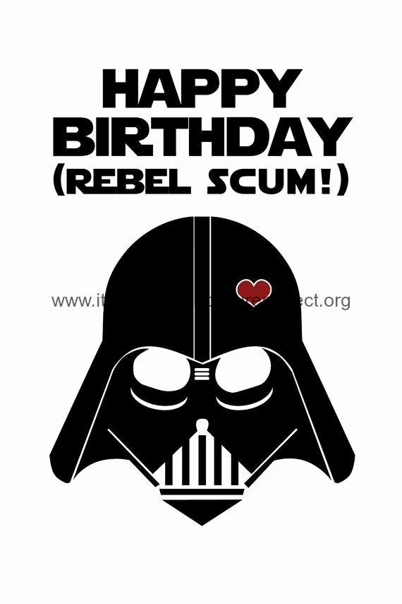 Star Wars Printable Birthday Cards Unique Printable Birthday Cards Star Wars