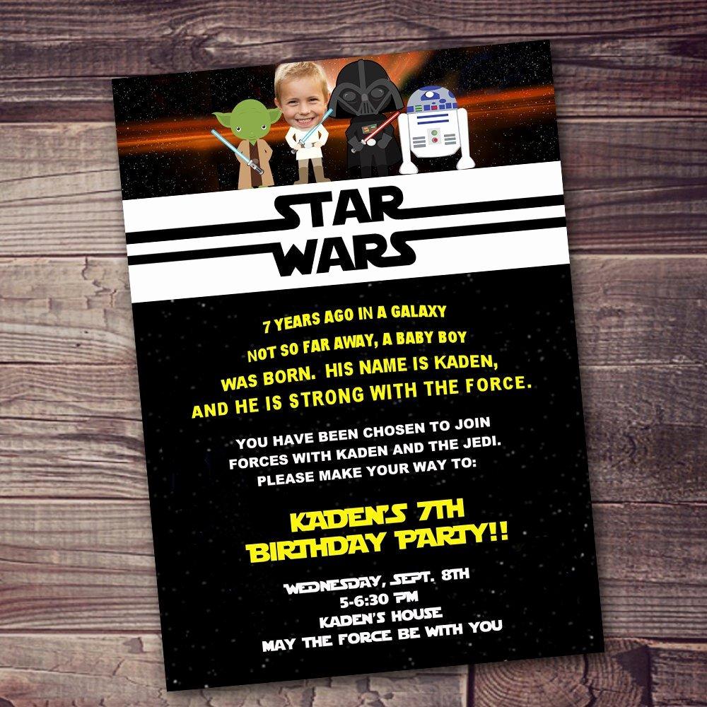 fast ship star wars invitation free