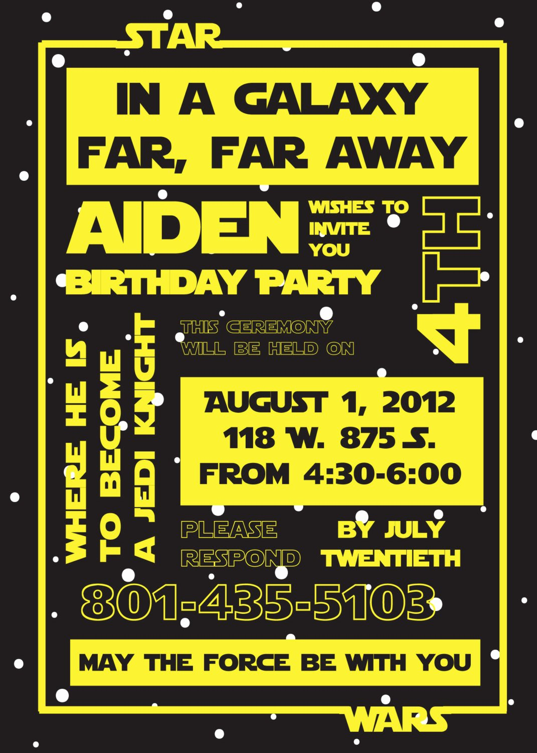 Star Wars Printable Birthday Invitations Fresh Printable Star Wars Invitation and Party Banner by Susieandme