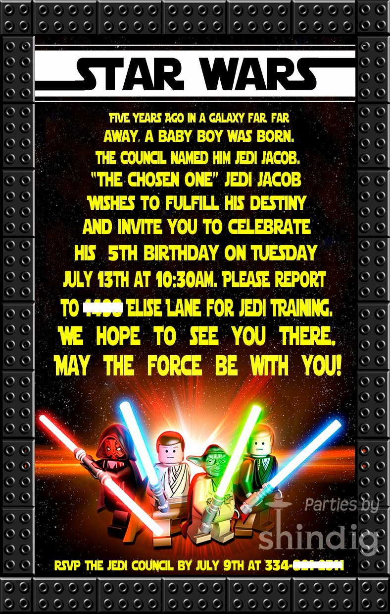 Star Wars Printable Birthday Invitations Lovely Amanda S Parties to Go Star Wars Party Details