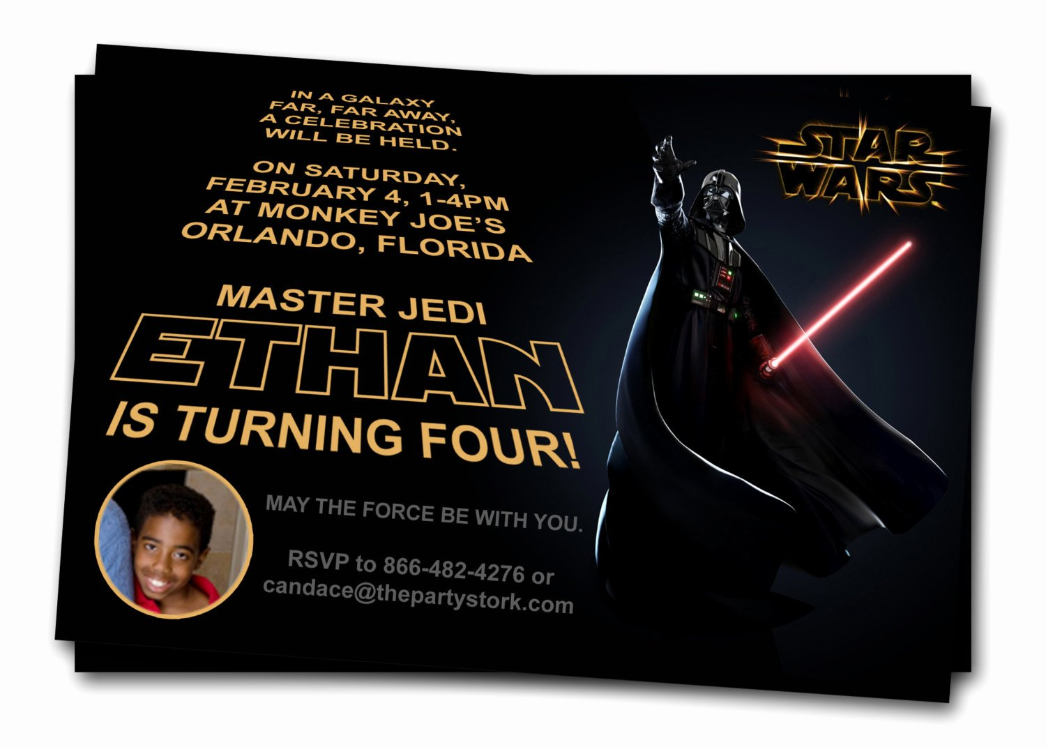Star Wars Printable Birthday Invitations Lovely Free Printable Star Wars Birthday Invitations
