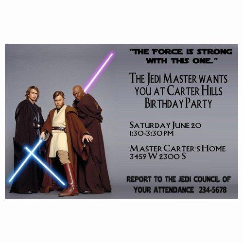 Star Wars Printable Birthday Invitations New Printable Star Wars Birthday Invitations