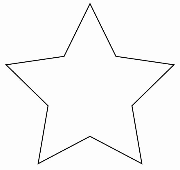 Stars Cut Out Templates Elegant 20 Star Templates Star Designs & Crafts