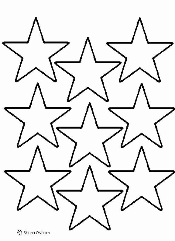 Stars Cut Out Templates Elegant Star Template Printout Clipart Best Clipart Best