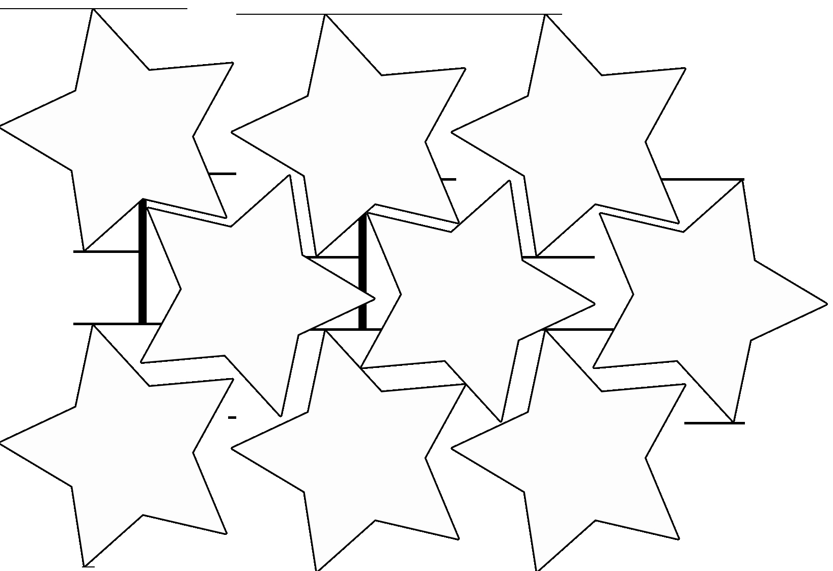 Stars Cut Out Templates Inspirational Star Garland – Magic Activities