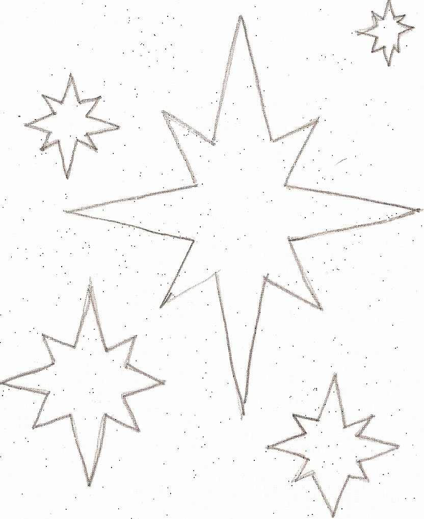 Stars Cut Out Templates Inspirational Twinkle Twinkle Little Star