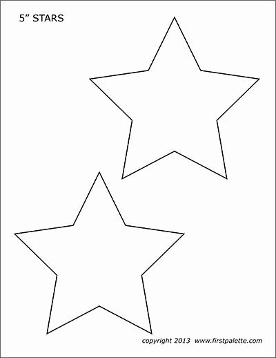 Stars Cut Out Templates Lovely Stars