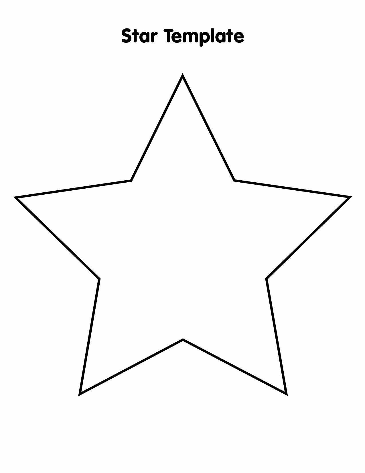 Stars Cut Out Templates Luxury 9 Best Of Big Star Template Printable Stars