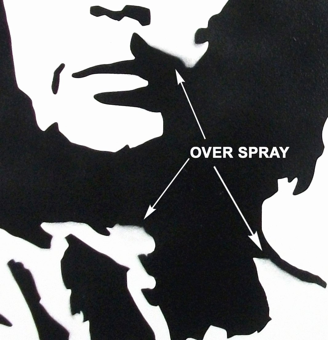 Stencil with Spray Paint Elegant Spray Paint A Banksy Stencil – Ideal Stencils Blog