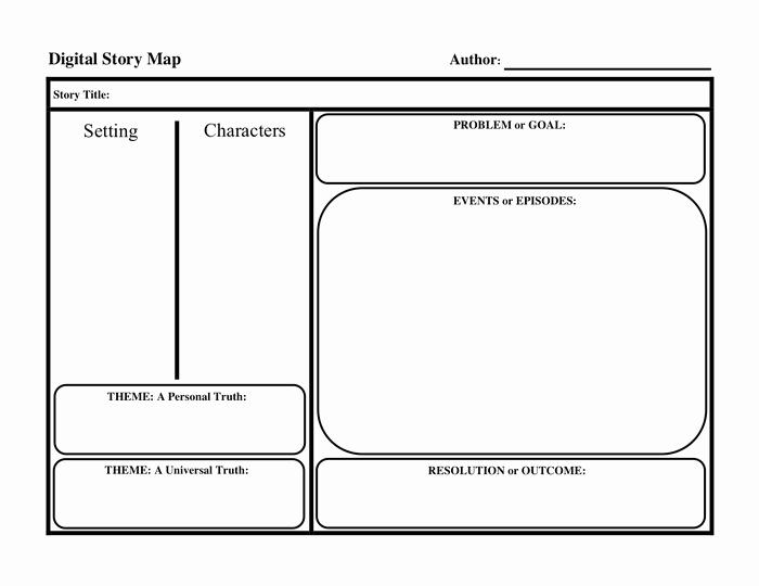Story Map Template Free Beautiful Story Map Template