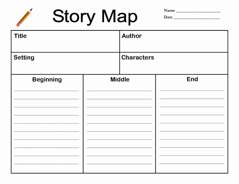 Story Map Template Free Elegant Story Map Lesson Plan for 2nd 3rd Grade