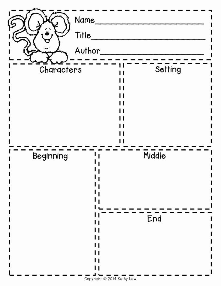 Story Map Template Free Fresh First Grade A La Carte Story Elements Freebie