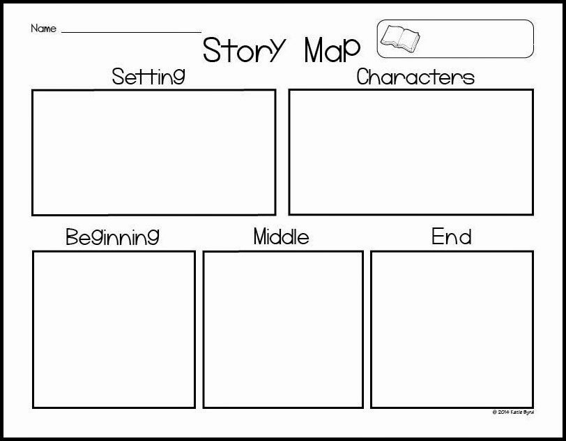 Story Map Template Free Inspirational Mrs byrd S Learning Tree Story Map Freebie