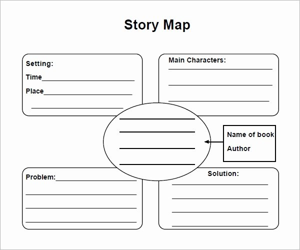 Story Map Template Free Inspirational Story Map 7 Free Pdf Download