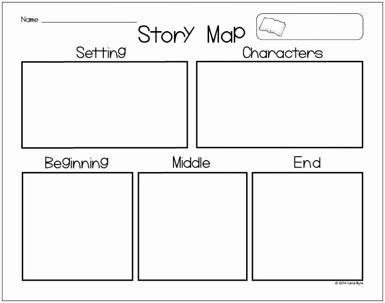Story Map Template Free Luxury 6 Printable Story Map Template Wutua