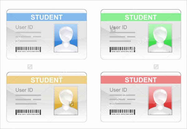 Student Information Card Template Elegant Student Id Card Template