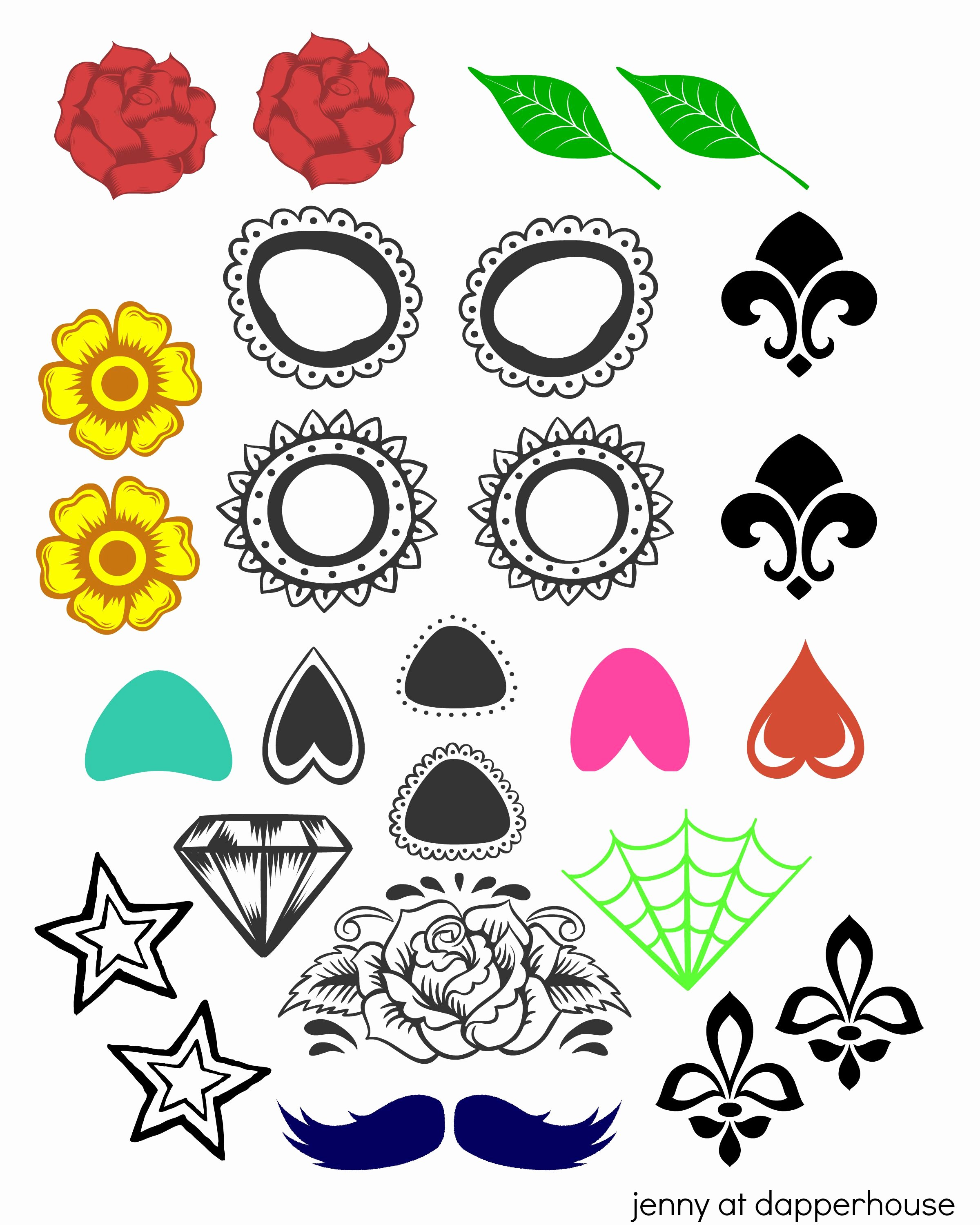 Sugar Skull Template Printable Best Of Free Printable Create A Sugar Skull for Day Of the Dead