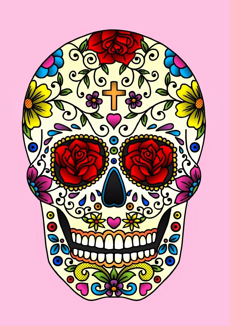Sugar Skull Template Printable Best Of Tattoos Book 2510 Free Printable Tattoo Stencils Skulls