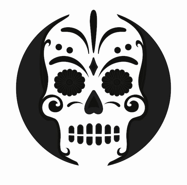 Sugar Skull Template Printable Inspirational 40 Printable Carving Stencils for the Best Lookin' Pumpkin