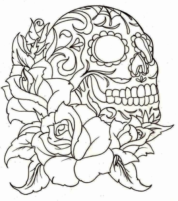 Sugar Skull Template Printable Inspirational Tattoos Book 2510 Free Printable Tattoo Stencils Skulls