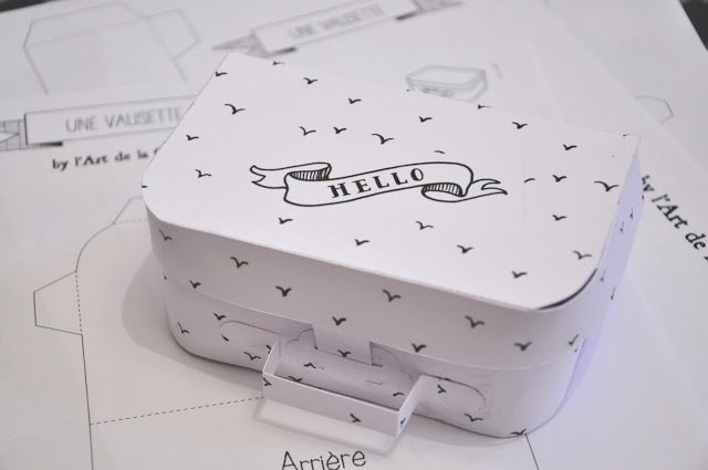 Suitcase Favor Box Template Lovely Suitcase Box Template Diy Crafts Tutorials