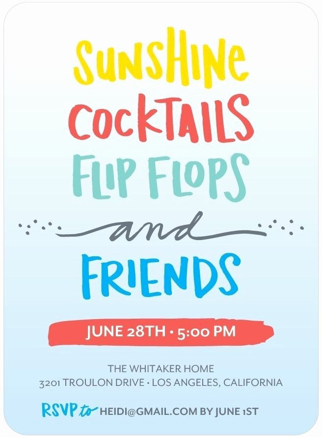 Summer Party Invitation Wording Awesome Best 25 Summer Party Invites Ideas On Pinterest