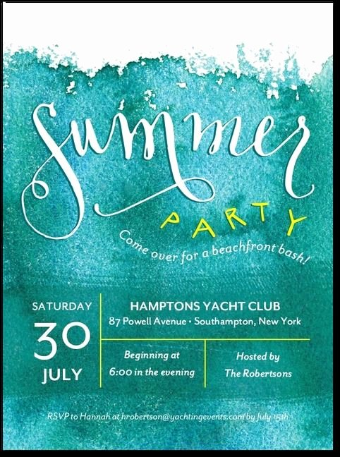 Summer Party Invitation Wording Best Of My Favorite Wedding Pool Party Invite for Our 29th