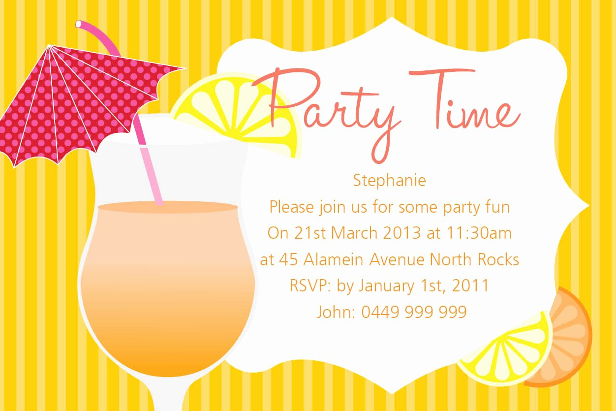 Summer Party Invitation Wording Lovely Lunch Gathering Invitation
