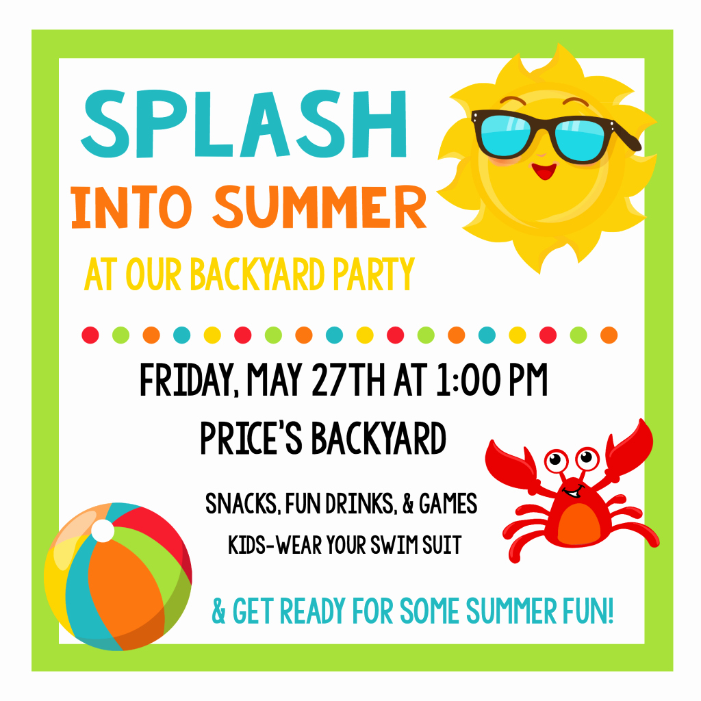 Summer Party Invitation Wording Lovely Splash Into Summer Party Invitations & Printables – Fun
