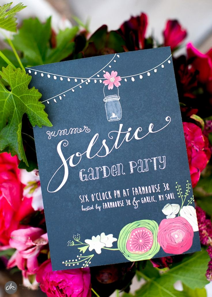 Summer Party Invitation Wording Unique 25 Best Ideas About Garden Party Invitations On Pinterest