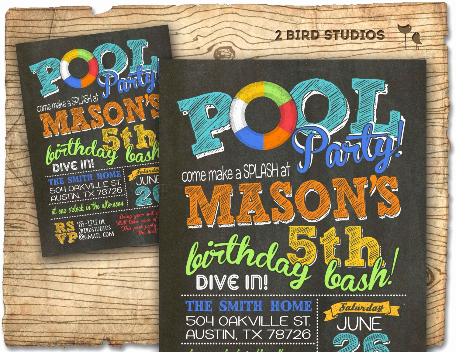Summer Pool Party Invitations New Pool Party Invitation Summer Birthday Invitation for Pool