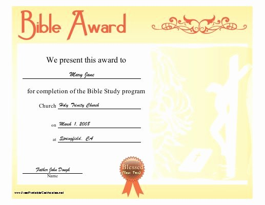 Sunday School Promotion Certificates Beautiful 11 Best Sunday School Certificates Images On Pinterest