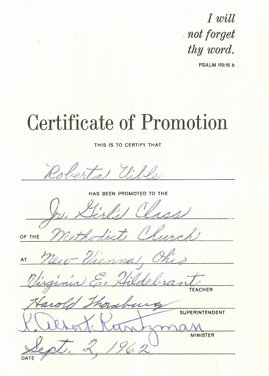 Sunday School Promotion Certificates Fresh Uibles A Family Blog September 2012
