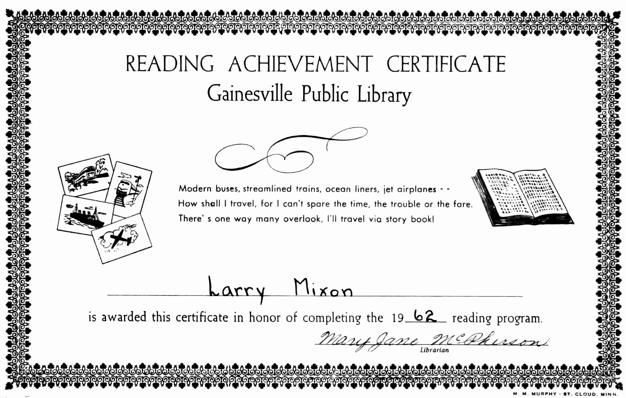 Sunday School Promotion Certificates Inspirational Lm1962 Documents